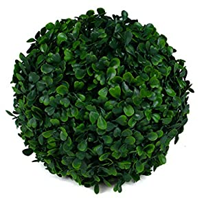 3rd Street Inn Topiary Ball - Artificial Topiary Plant - Wedding Decor - Indoor/Outdoor Artificial Plant Ball - Topiary Tree Substitute 3