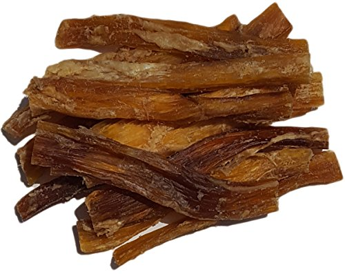 "Peppy Pooch Beef Tendons 5"" Sticks – 12 Pack. All-Natural American Beef Chews for Dogs. Made in USA."