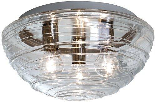 Besa Lighting 906361C Wave Ceiling Flush Mount Light Fixture