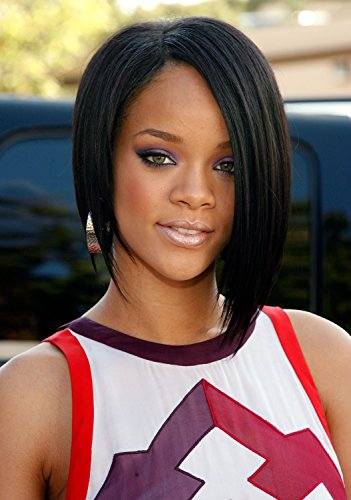 Wig Hollywood Star (2015 New Hollywood Wigs Same as Star Short Black Women Straight Wig Girls Synthetic Hair)