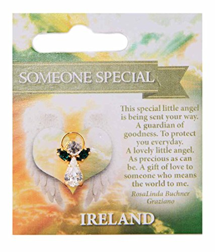 Guardian Angel Pin With Someone Special Blessing ()