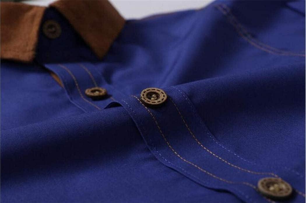 Zipong Casual Shirts Men 2019 Brand Slim Solid Long Sleeve Shirt White Shirt