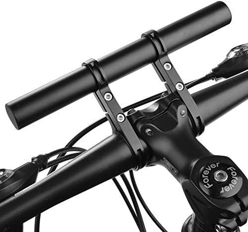 JVSISM Handlebar Extension Mount Bicycle Bike Handle Bar Bracket Extender Holder(black)