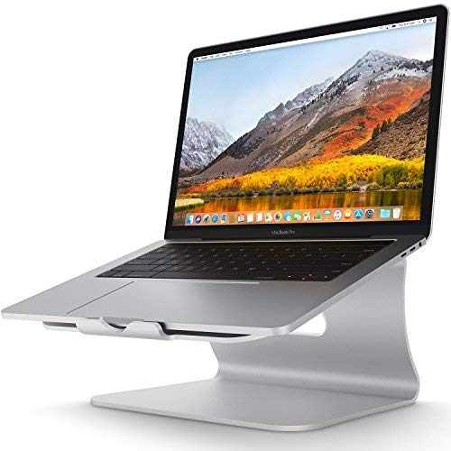 Laptop Stand - Bestand Aluminum Cooling MacBook Stand: [Update Version] Stand, Holder for Apple MacBook Air, MacBook Pro, All Notebooks, Sliver (Patented) (Best External Hard Drive For Ableton)