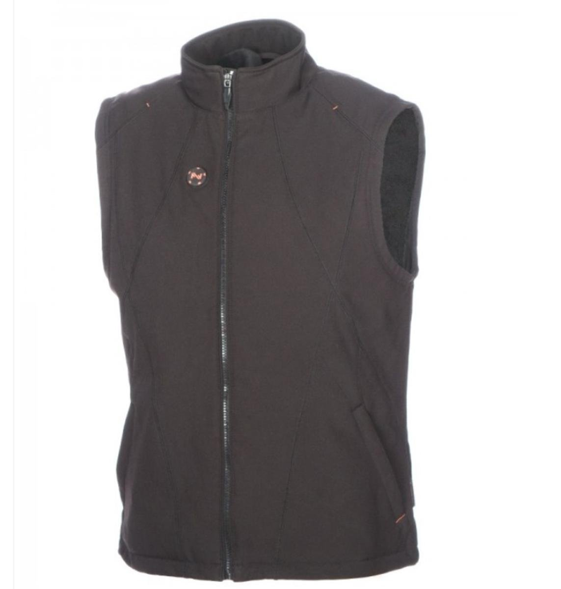 Mobile Warming Unisex-Adult Dual Power Heated 12v Vest (Black, Large)