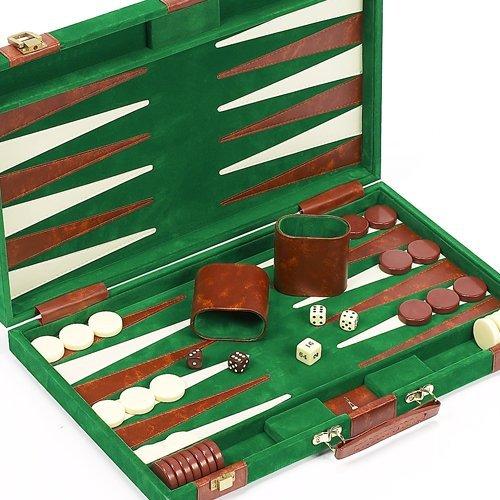 Lexington Avenue Luxury Designer Backgammon Set 18
