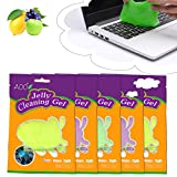 AOO 5-Pack Keyboard Cleaner Universal Cleaning Gel for PC Tablet Laptop Keyboards, Car Vents, Cameras, Printers, Calculators