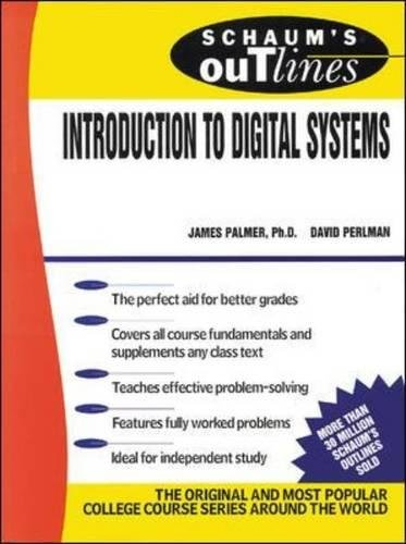 Schaums Outline Of Introduction To Digital Systems