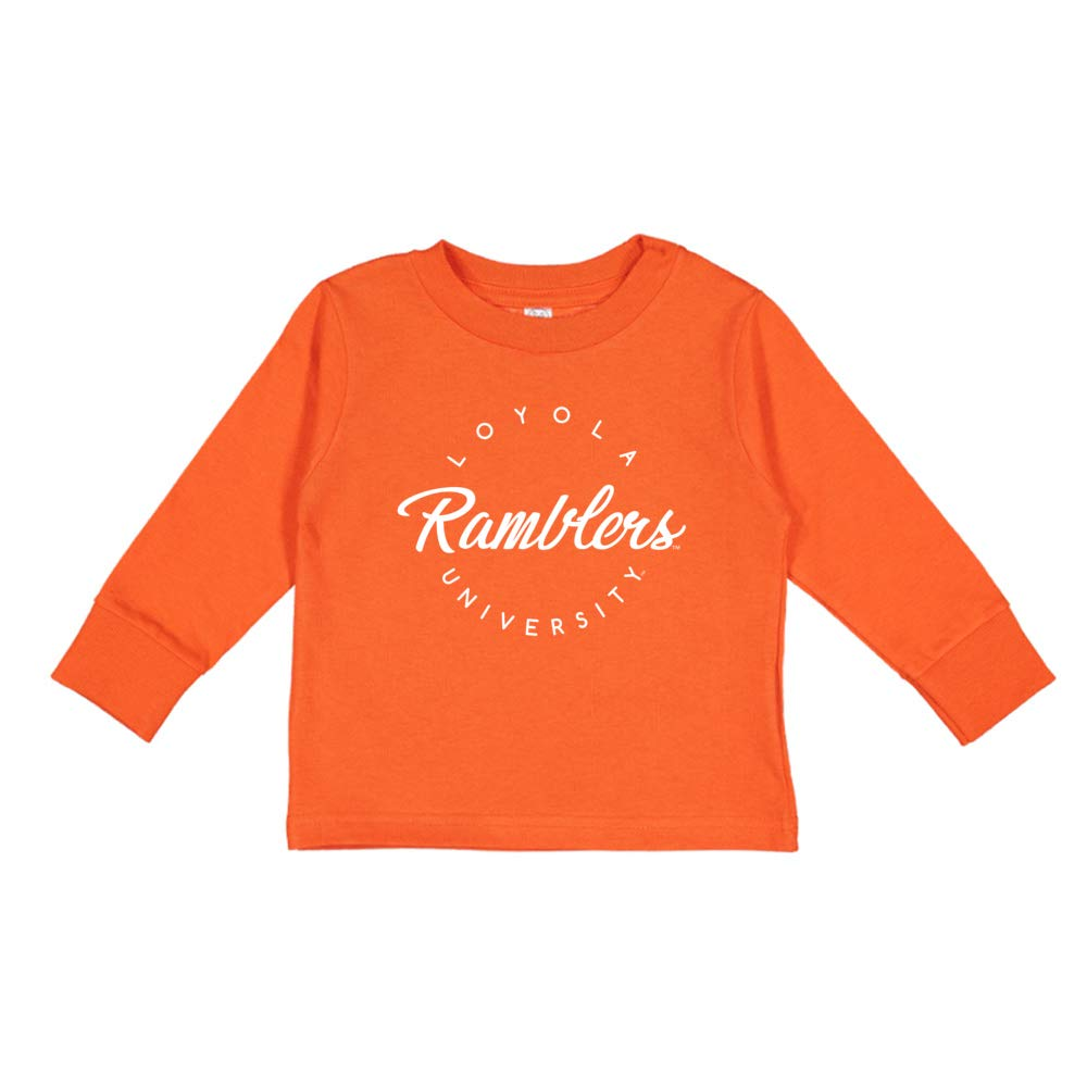 NCAA Loyola Chicago Ramblers RYLLUC04 Toddler Long-Sleeve T-Shirt