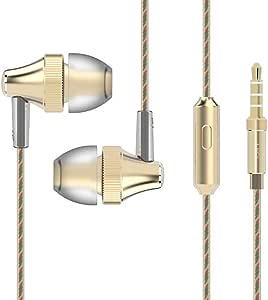 Bovon Auriculares Cascos In-Ear Estéreo 3.5mm Cableado con