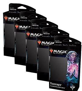 MTG Magic the Gathering Core 2019: Set of 5 Planeswalker Decks
