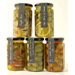 Casina Rossa Appetizer Selection with Olives - 5 pk