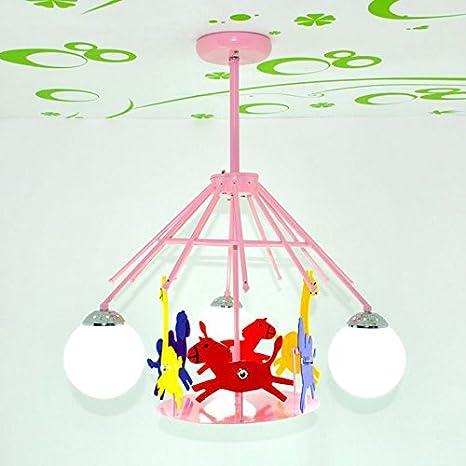 Carcasa Carousel habitación infantil lámpara de techo ...