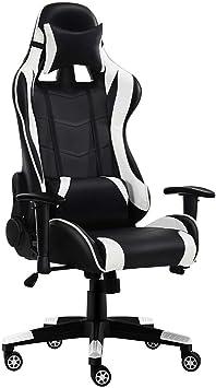 Silla de Escritorio Gamer juegos silla ergonómico giratorio silla ...