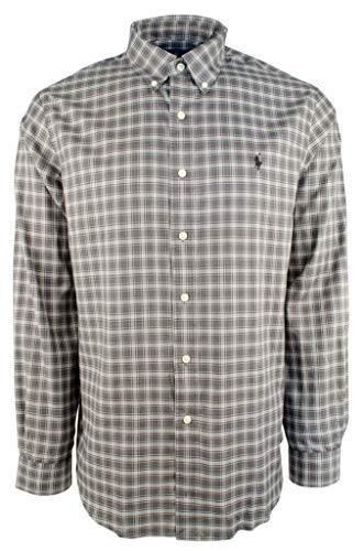 Ralph Lauren Mens Cotton Twill Standard Fit Button-Down Shirt