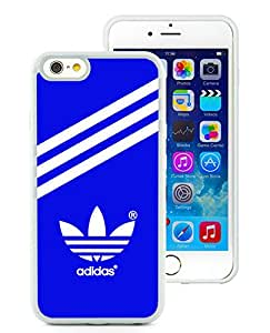 Beautiful Unique Designed iPhone 6 4.7 Inch TPU Cover Case With Adidas 25 White Phone Case