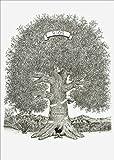 Custom, Hand-Drawn 11'' x 14'' Family Tree