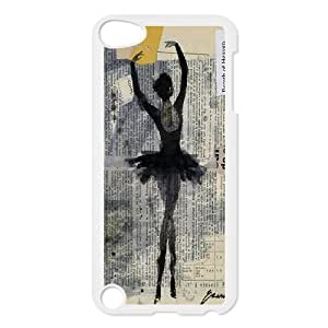 Custom LiuXueFei Phone caseElegent Ballet Dance Pattern FOR IPod Touch 4th -Style-20