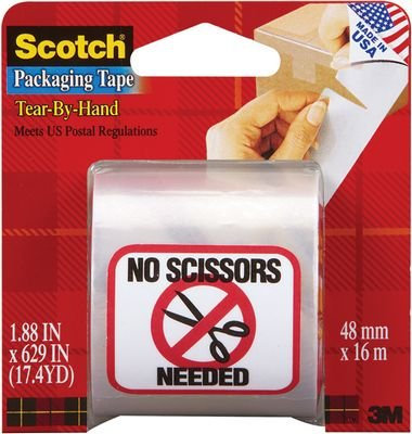 Scotch Hand Tearable Packaging Tape product image