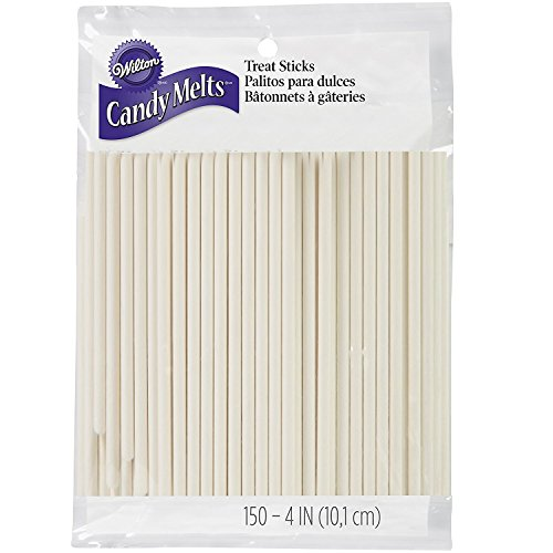 Wilton 1912-1001 4-Inch Lollipop Sticks, 150/ -