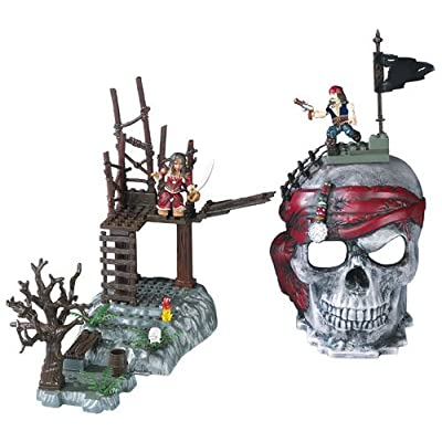 Mega Bloks Pirates of the Caribbean Skull Playsets by Mega Brands: Toys & Games