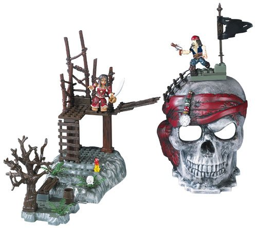 (Mega Bloks Pirates of the Caribbean Skull Playsets by Mega Brands)