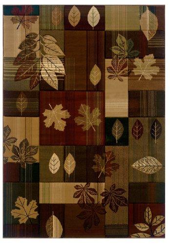 "United Weavers of America Autumn Bliss Area Rug, 2' 7"" x 7' 6"", Lodge from United Weavers of America"