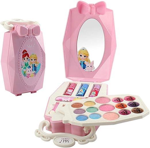Binwe 22 Pieces Washable Makeup Toys For Children, Makeup Case 1 Set: Amazon.es: Hogar