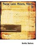 Poetae Latini Minores, Aemilius Baehrens, 0559049692