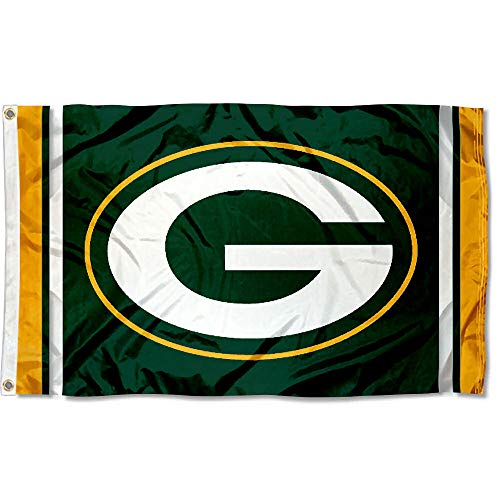 Pole Nfl Flag - WinCraft Green Bay Packers Large NFL 3x5 Flag