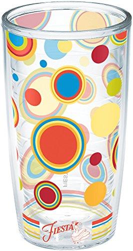 Dots Tumbler (Tervis Fiesta Poppy Dots Tumbler, 16-Ounce)