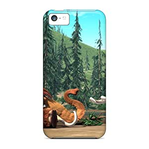 Excellent Iphone 5c Case Tpu Cover Back Skin Protector Manny Ellie Ice Age