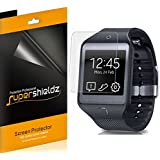 [6-Pack] SUPERSHIELDZ- High Definition Clear Screen Protector Shield For Samsung Galaxy Gear 2 Neo + Lifetime Replacements Warranty [6 Pack] - Retail Packaging