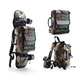 """TELESIN 6""""-7.9"""" Skateboard Handbag Extreme Sport Skateboard Carry Bag Universal Backpack Carrier with Adjustable padded Shoulder Straps Longboard Ergonomic Backpack, camouflage"""