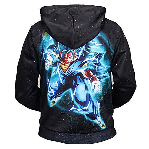Unisex Hoodies Dragon Ball Z Goku 3D Print Pullover Hoodies Sweatshirt Tops:  Amazon.ca: Clothing & Accessories