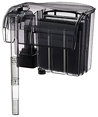 Up To 55 Gallon Tank Power Filter - Model 55 For Fresh Water Aquariums, Saltwater Aquariums, Aquaculture, Terrariums & Hydroponic Systems Up to 55 Gallons In Size - Sold By Pidaz