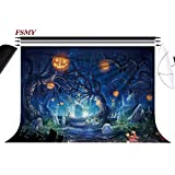 FSMY 7x5ft Halloween Photography Backdrops,Customized Photo Background for Studio Props