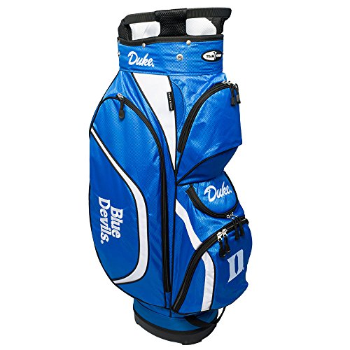 Team Golf NCAA Clubhouse Cart Bag, Duke by Team Golf