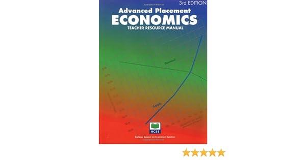 advanced placement economics teacher resource manual john s rh amazon com Advanced Placement Courses advanced placement economics microeconomics teacher resource manual 4th edition