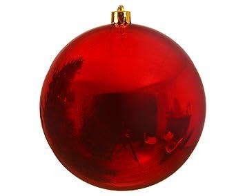 Christbaumkugeln 25 Cm.Große Weihnachtskugeln Aus Kunstoff Durchmesser 20 Cm Christbaumkugeln In Rot Gold Und Silber Baumkugeln Glänzend Rot 25 Cm