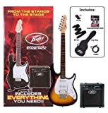 Peavey Raptor Plus Electric Stage Pack, Sunburst