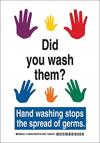 Brady 128450 Personal Hygiene Washing