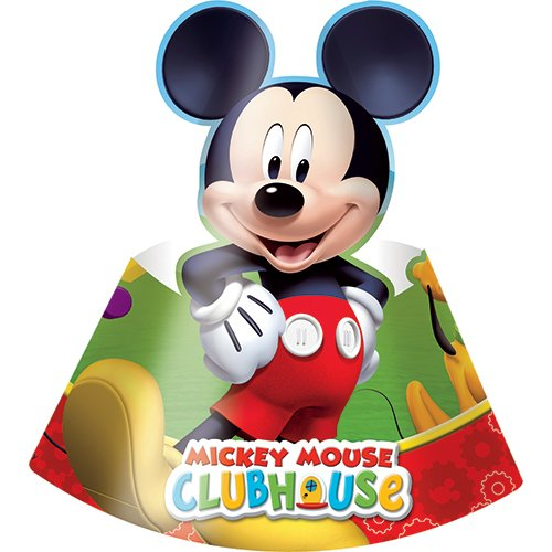 4 opinioni per Procos 81516- Cappellini Carta Mickey Mouse Club House, 6 Pezzi, Multicolore