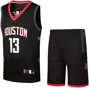 Camisetas De Fanáticos De La NBA Houston Rockets Harden Uniformes ...