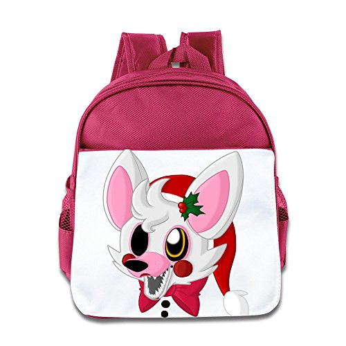 Alice In Wonderland Video Game Costume (XJBD Custom Superb Video Game Logo Boys And Girls School Bag For 1-6 Years Old Pink)