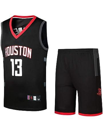 781eccf8 NBA Fan Jerseys Houston Rockets Harden Basketball Uniforms Teen T-Shirts  Vest Training Suits Competition