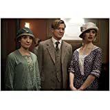 Downton Abbey Laura Carmichael as Lady Edith Crawley Standing with Others in Room 8 x 10 Inch Photo