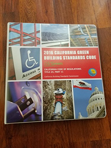 2016 California Green Building Standards Code, Title 24, Part 11 (CALGreen)