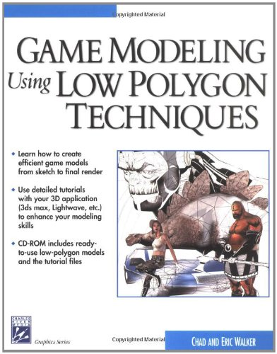 Game Modeling Using Low Polygon Techniques-cover