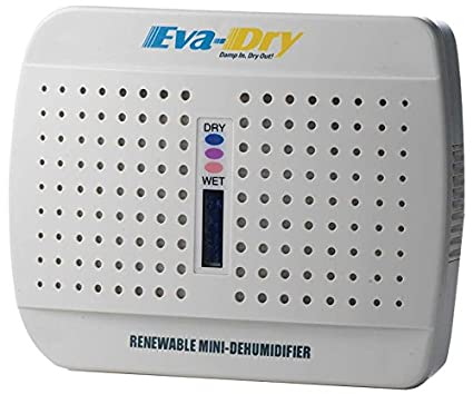 Eva-dry E-333 Renewable Wireless Mini Dehumidifer